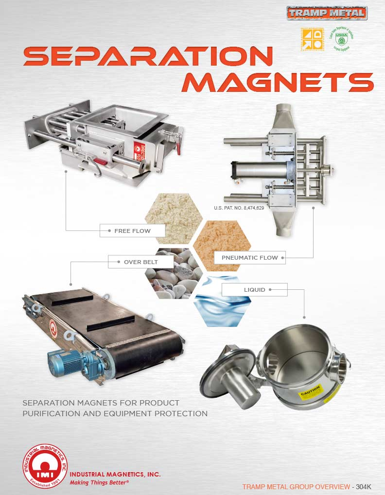 Metal Separation Catalog