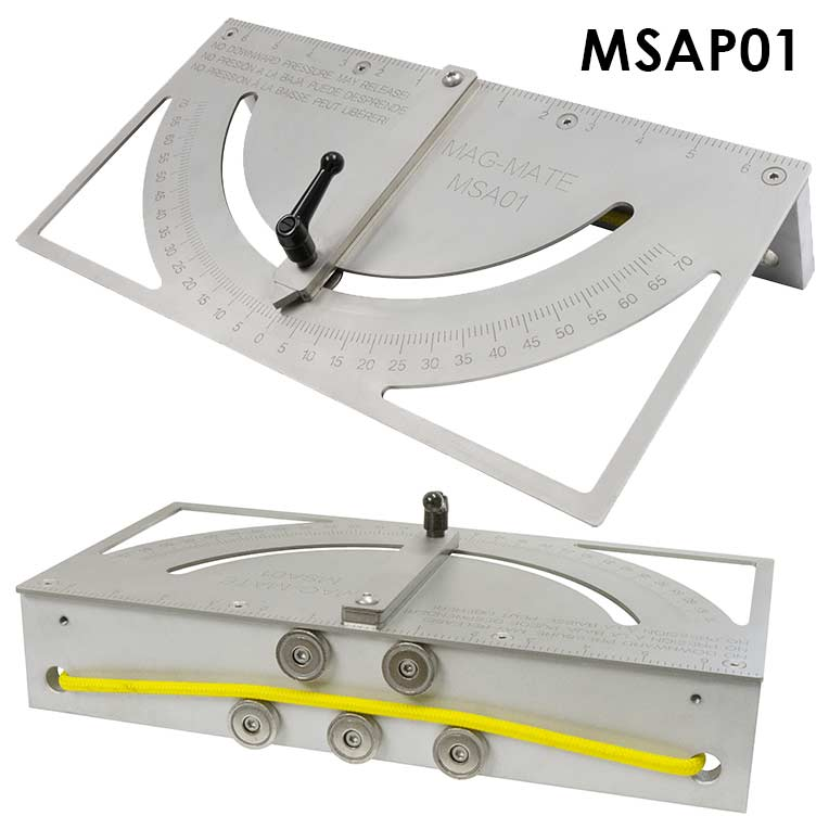 Magnetic Press Brake Squaring Arm