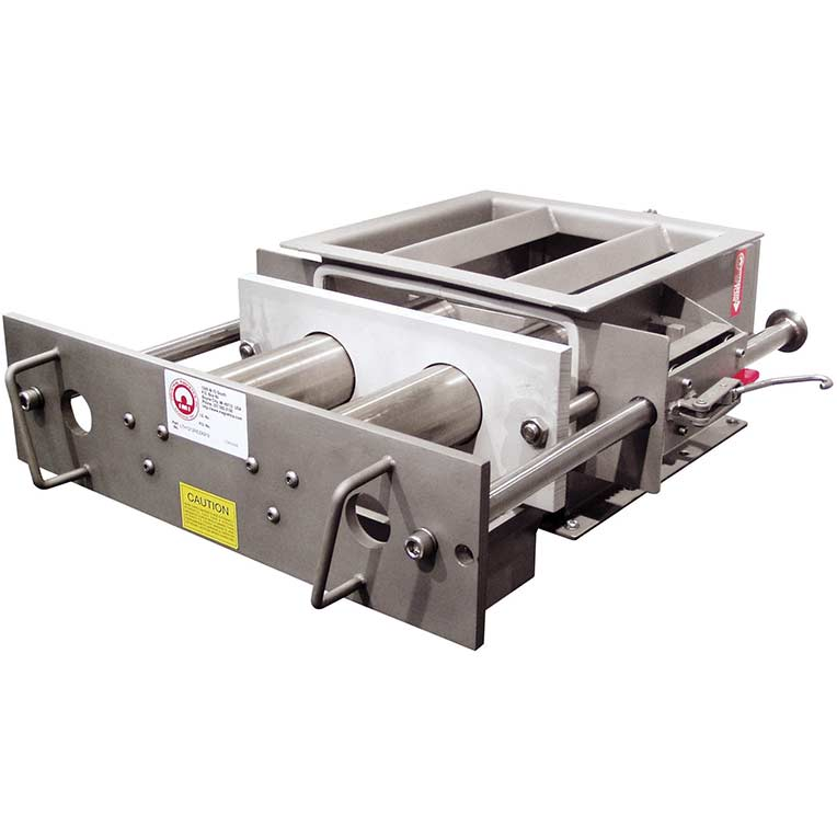 12 x 2 12 x 2 Industrial Magnetics Inc MAG-MATE N12DC Ceramic Magnetic Separation Grate
