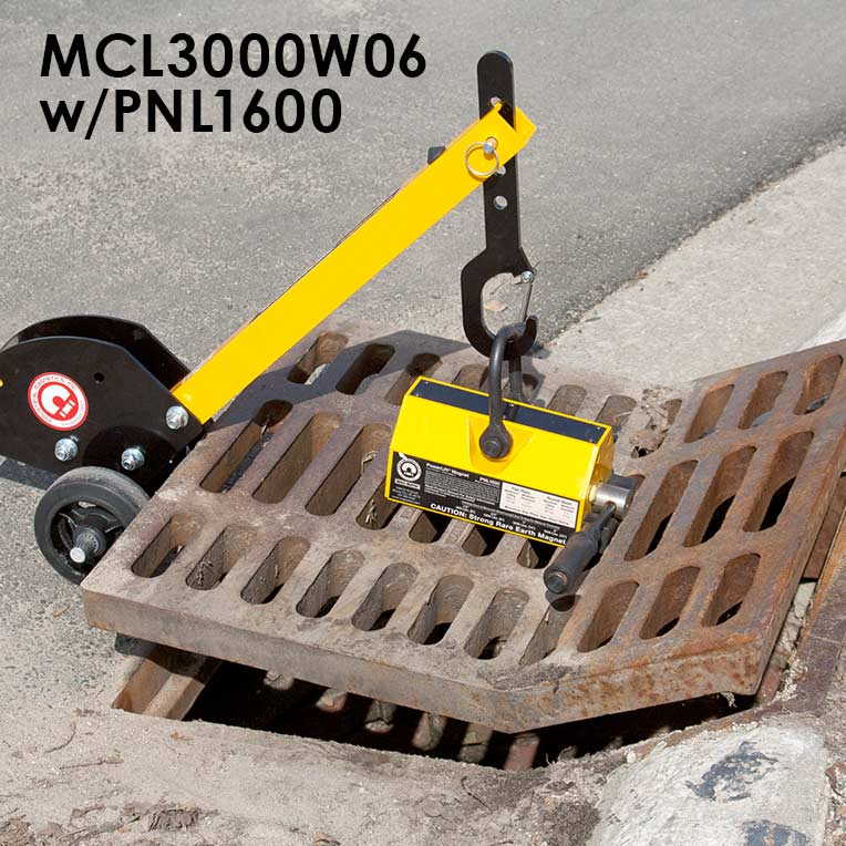 Manhole Cover Lift Dolly System Image 6