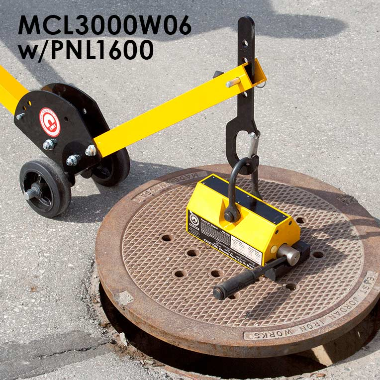 Manhole Cover Lift Dolly System Image 4