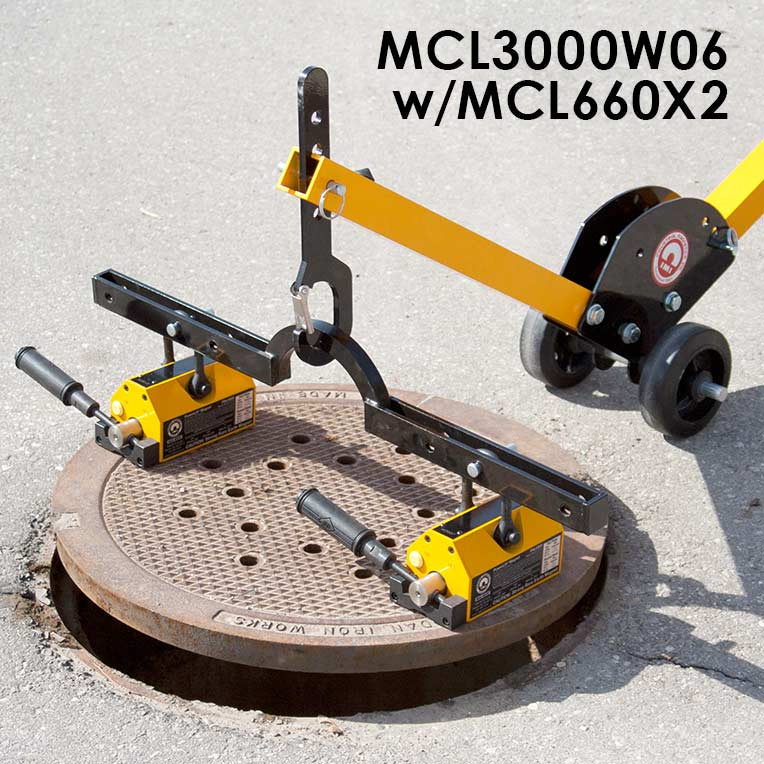 Manhole Cover Lift Dolly System Image 5