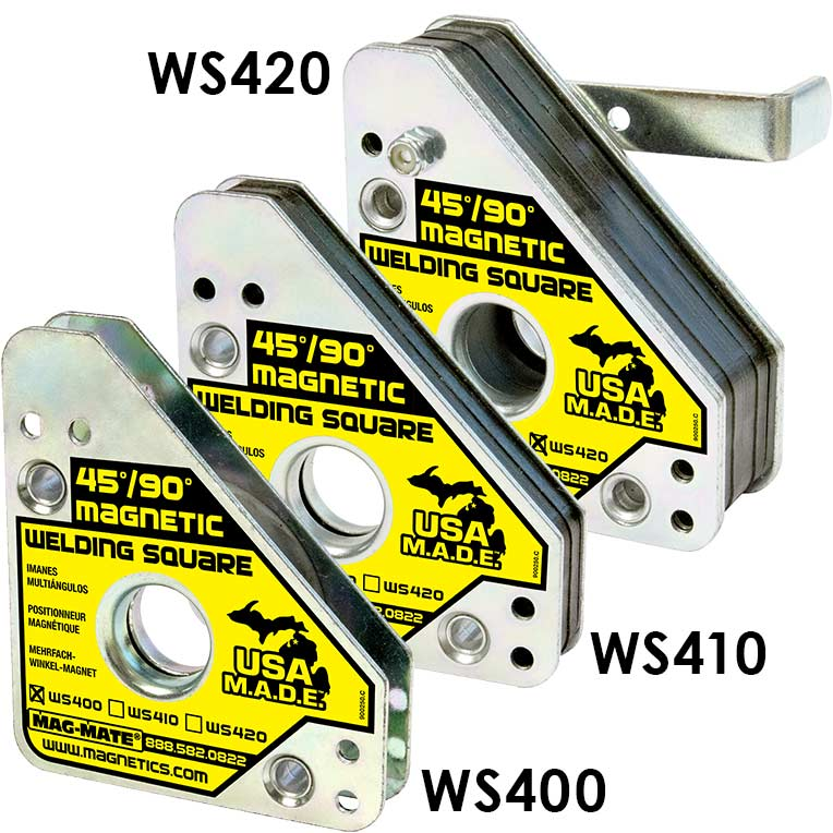 Industrial Magnetics Inc Magnetic Welding Squares