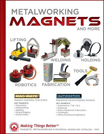 IMI Releases New Metalworking Magnets & More Catalog
