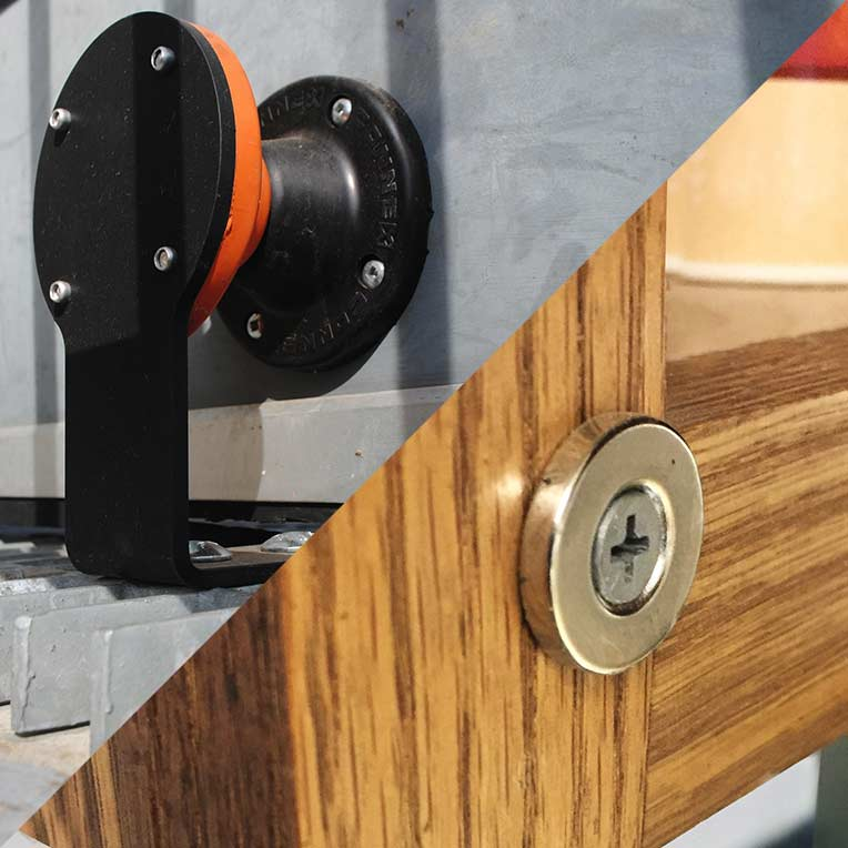 IMI Adds Magnetic Door Stops/Holders and Magnetic Latches to Product Line