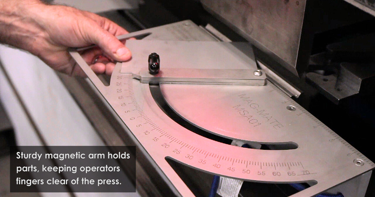 IMI Releases Video on Magnetic Squaring Arm for Press Brakes
